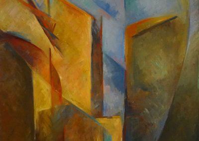 Belforte_Gaesschen_Abstr.II-Oel-80x60cm