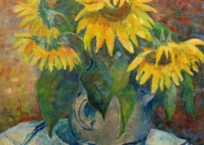 Sonnenblumen-Oel-50x40cm